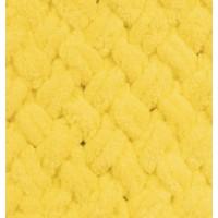 Пряжа Puffy (Пуффи), ALIZE (Турция), 9,2м, 100гр, 100% микрополиэстер, 216 - Желтый