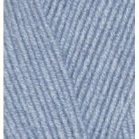 Пряжа LanaGold 800(Лана голд 800), ALIZE (Турция), 800м, 100гр, 49% шерсть, 51% акрил - 221 Светлый джинс
