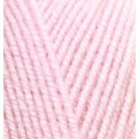 Пряжа SuperLana Klasik (СуперЛана Класик), ALIZE (Турция), 280м, 100гр, 25% шерсть, 75% акрил, 518 - Бледно-розовый