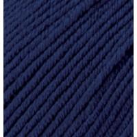 Пряжа Merino Royal (Мерино роял), ALIZE (Турция), 100м, 50гр, 100% шерсть, 58 - Темно-синий