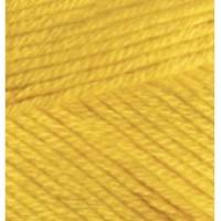 Пряжа Bella (Бэлла), ALIZE (Турция), 180м, 50гр, 100% хлопок - 488 Желтый