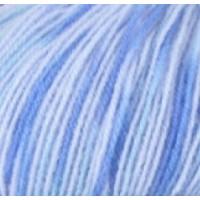 Пряжа Baby print, Vita (Китай), 400м, 100гр, 100% акрил, 4855 - Сине-голубой