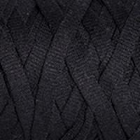 Пряжа Ribbon (Риббон), YarnArt (Турция), 250гр, 125м, 40%хлопок, 60% вискоза+полиэстер, 750 - Черный