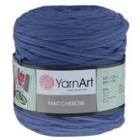 Пряжа Maccheroni (Макарони), YarnArt (Турция), 600+/-100гр, ~150м, 90% восстановленный хлопок, 10% полиэстер - джинсовый