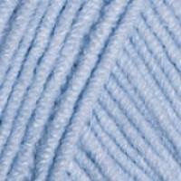 Пряжа JEANS (Джинс), YarnArt (Турция), 160м, 50гр, 55% хлопок, 45% Полиакрил, 75 - Светло-голубой