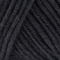 Пряжа JEANS (Джинс), YarnArt (Турция), 160м, 50гр, 55% хлопок, 45% Полиакрил, 53 Черный