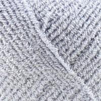 Пряжа Бамбук стрейч, КАМТЕКС (Россия), 260м, 50гр, 98% бамбук, 2% лайкра, 8 - Серебристый