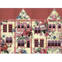 Рисовая бумага для декупажа Craft Premier Цветочный домик, A3, 25г/м, Арт. CP08883, 1 лист