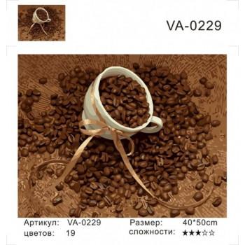 Картина по номерам Raduga (Paintboy) 40x50 - VA-0229 Кофейные зерна