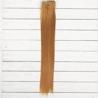Волосы - тресс для кукол Прямые длина волос 40 см, ширина 50 см, №27В 2294373