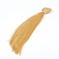 Волосы для кукол длина 25-28 см, трессы 47-50 см, цвет - золотистый блондин