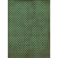 Рисовая бумага для декупажа Craft Premier Винтажный горошек А3, Арт. CP05270, 1 лист