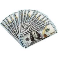 Декоративные купюры Забавная пачка - 100 $ (долларов) - уп. 90 шт