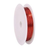 Проволока для бисера стальная Китай 0,3мм 50м (красный)