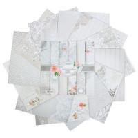 Набор бумаги для скрапбукинга Счастливый день 12 листов 29,5х29,5см, 180 г/м2