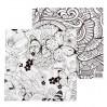 Бумага для скрапбукинга Удивительный мир Счастье 14,5х14,5см, 180 гр/м2, 1 лист