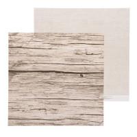 Бумага для скрапбукинга Naturals Досочки 30,5х30,5см, 180 г/м2, 1 лист