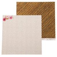 Бумага для скрапбукинга Звездное сияние Золотая пыль 30,5х30,5см, 180 г/м2, 1 лист