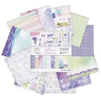Набор бумаги для скрапбукинга Mon Amour 12 листов 30,5х30,5см, 180 г/м2