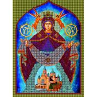 Канва для вышивки бисером Бисер К.А. СБИ-06 Покрова Пресвятой Богородицы 23х30см