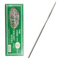 Крючок для вязания 0.6мм - 12,5см - CORN - металлический